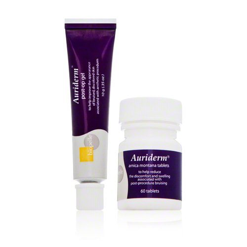 Biopelle Auriderm Post-Procedural Relief KitIncludes- Auriderm Post-op Gel and Arnica Montana Tablets_
